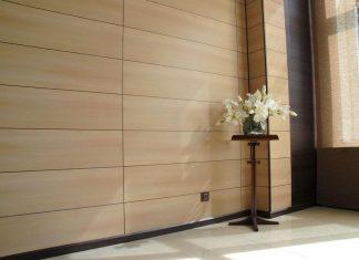 Декорирование помещений облицовочными панелями
