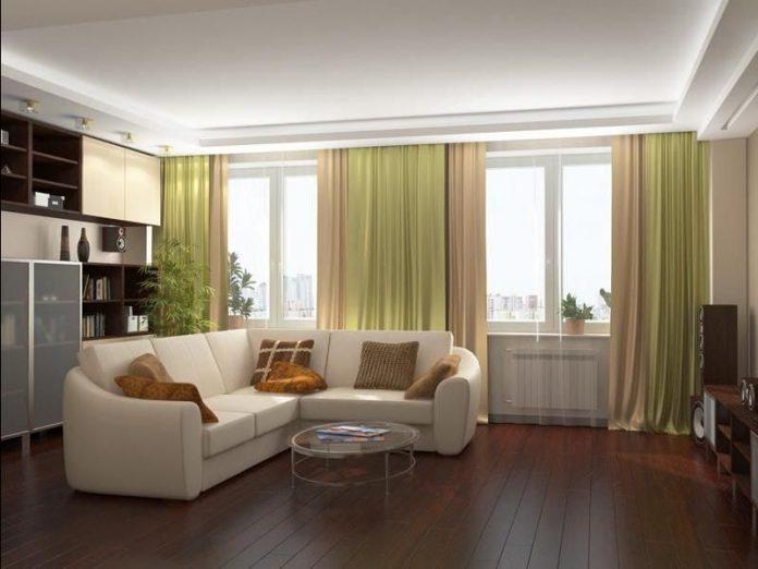 пространство однокомнатной квартиры