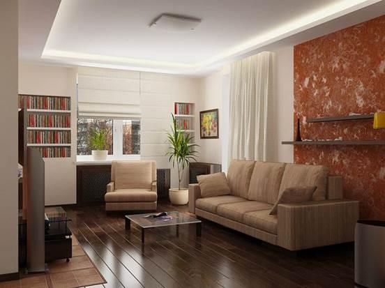 Дизайн гостиной 20 метров