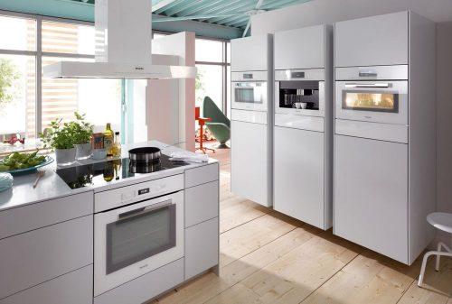 Кухни со встроенной техникой