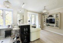 Красивый и современный интерьер квартиры-студии