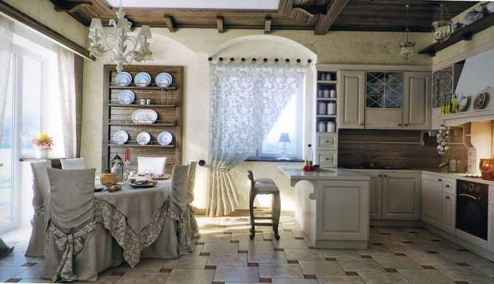 Кухонные гарнитуры из массива дерева
