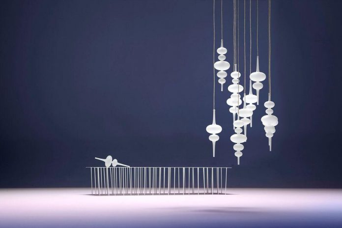 Дизайнерские люстры Melogranoblu в интерьере
