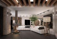 тонкости в интерьере зала в частном доме