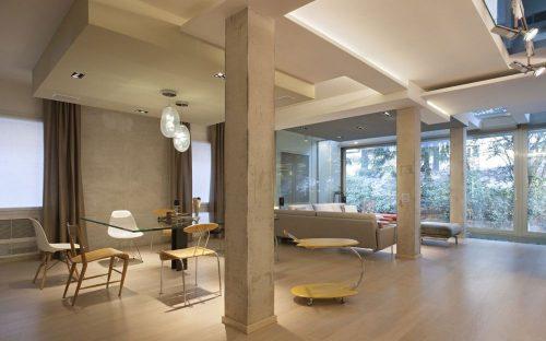 дизайн зала в частном доме фото 1