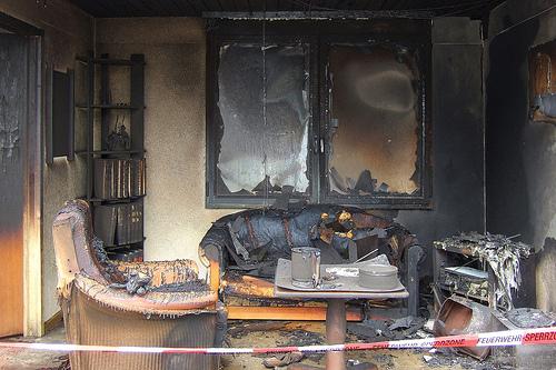 помещения после пожара