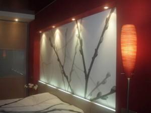 Световой дизайн спальни