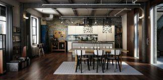 Декорирование интерьера в стиле лофт