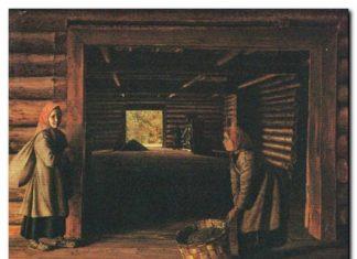 Г. В. Сорока Гумно. 1840-е гг. Холст, масло Государственный Русский музей