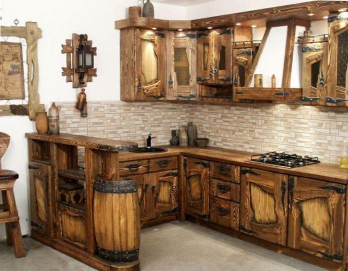 Декорирование старой мебели