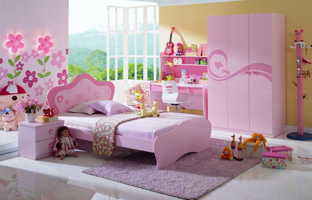 Дизайн интерьера для девочек