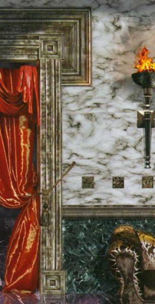 Фактуры «Рим» (компьютерный коллаж)