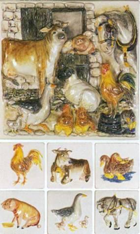 Керамическая плитка коллекции La Belle Collection