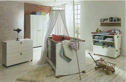 Коллекция мебели для детской, производит Hulsta