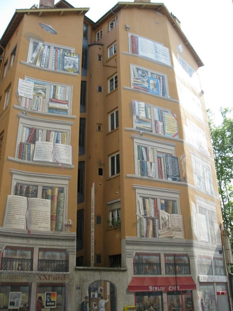 Лион, здание библиотеки