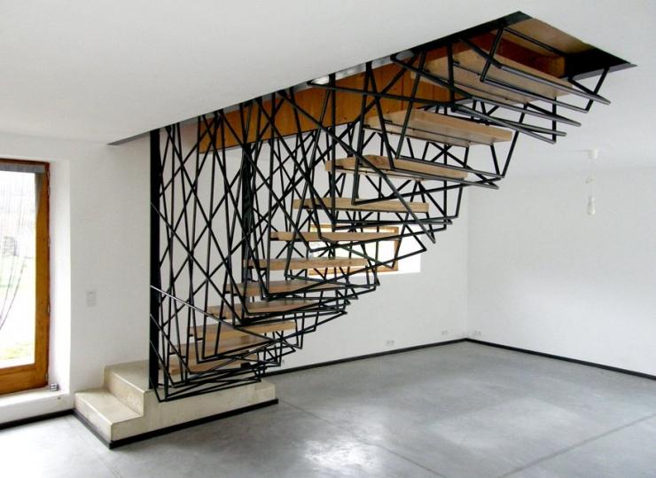 Лестницы – как украшение интерьера