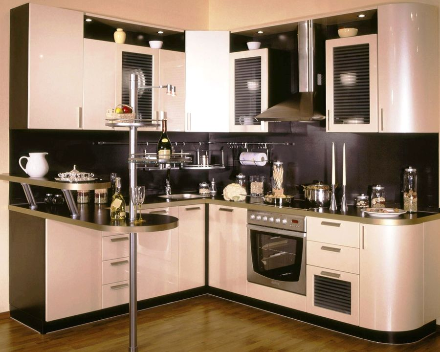 Дизайн мелкой кухни