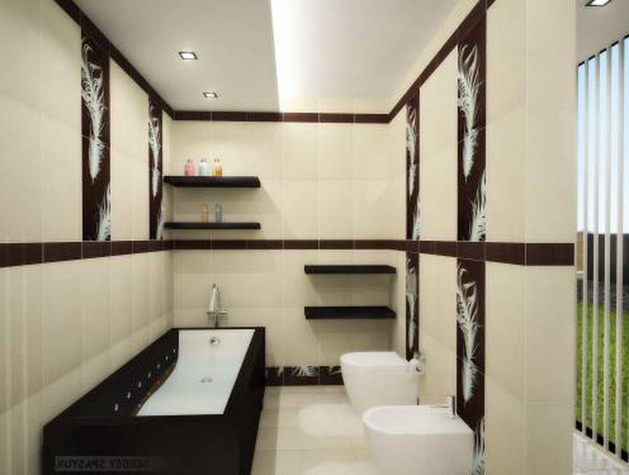 Искусственный камень дизайн при отделке квартиры 189