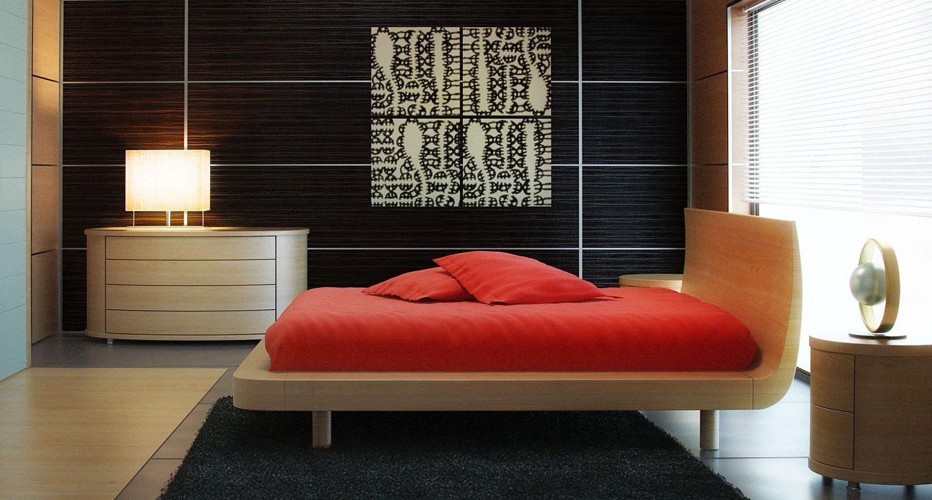 Стеновые панели мдф в интерьере спальни фото