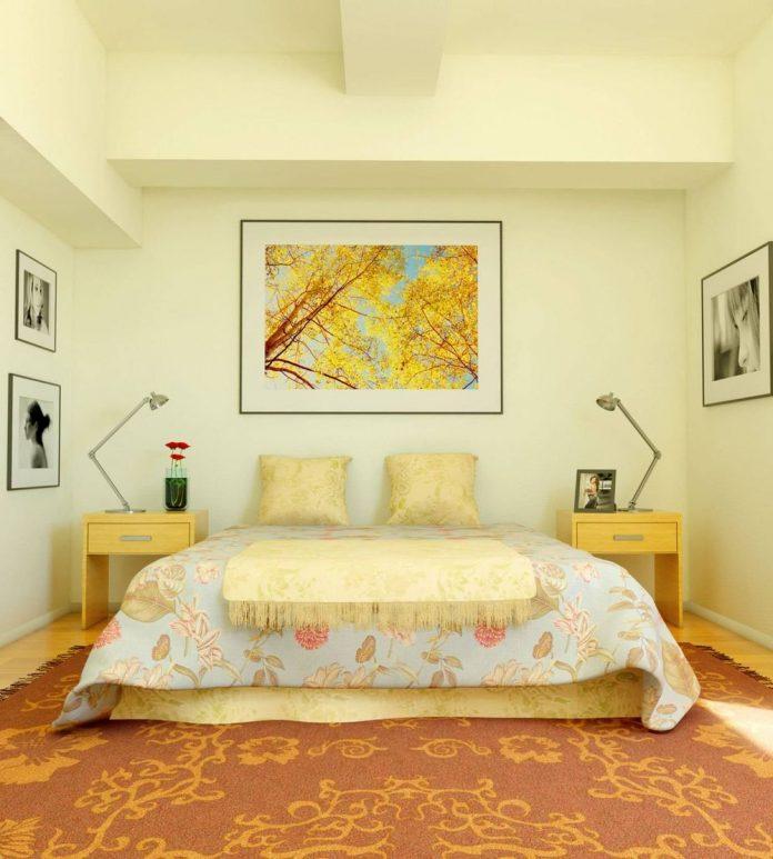 Легкость и безмятежность в интерьере спальни