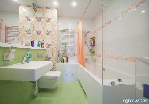 Чудеса стекла в ванной комнате