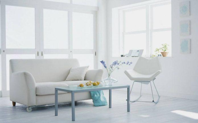 «Белый стиль» в дизайне интерьеров