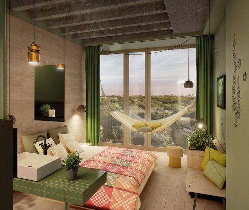 Дизайн интерьера в экологическом стиле