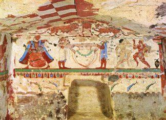 Гробница Львиц в Тарквинии