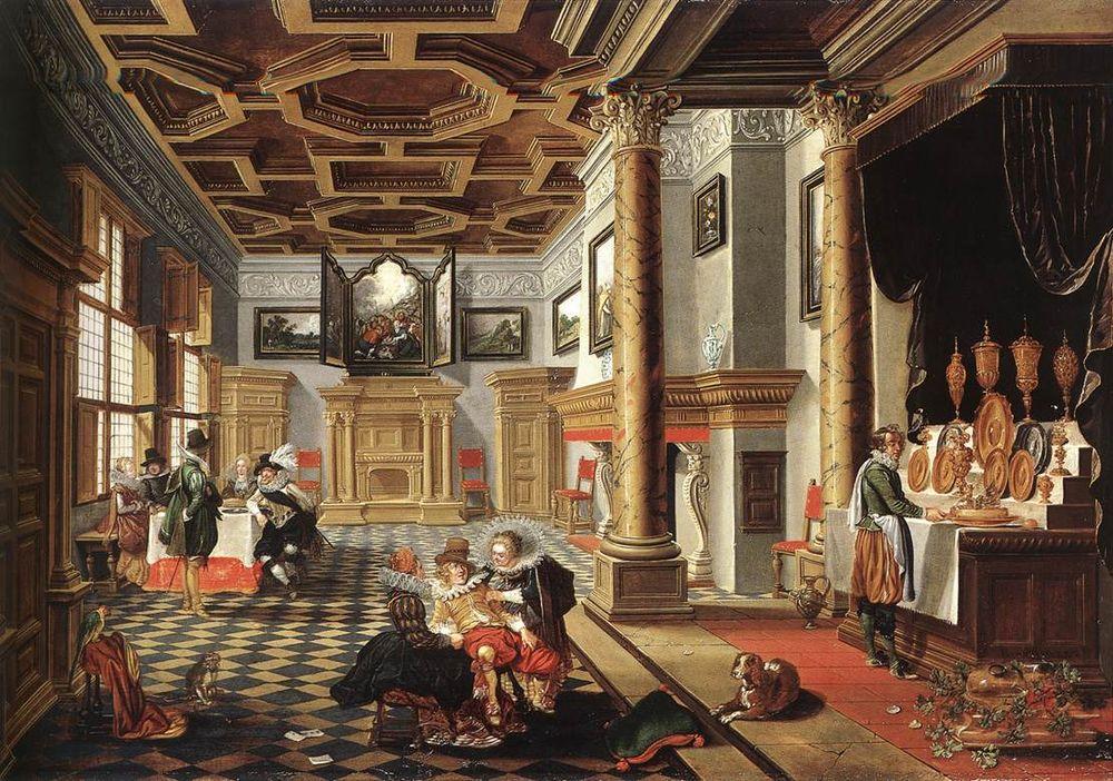 Интерьеры в эпоху Возрождения