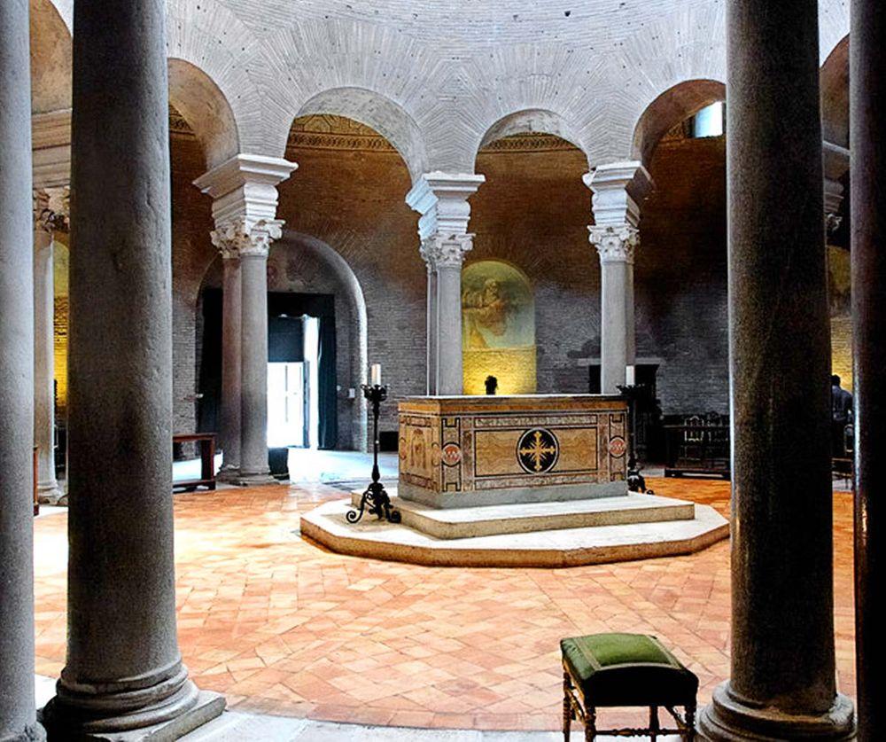 мавзолей Санта Констанца в Риме