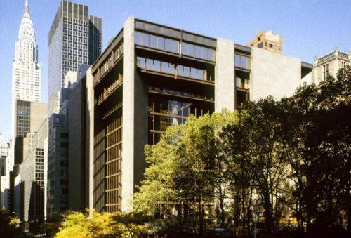 здание фонда Форда в Нью-Йорке