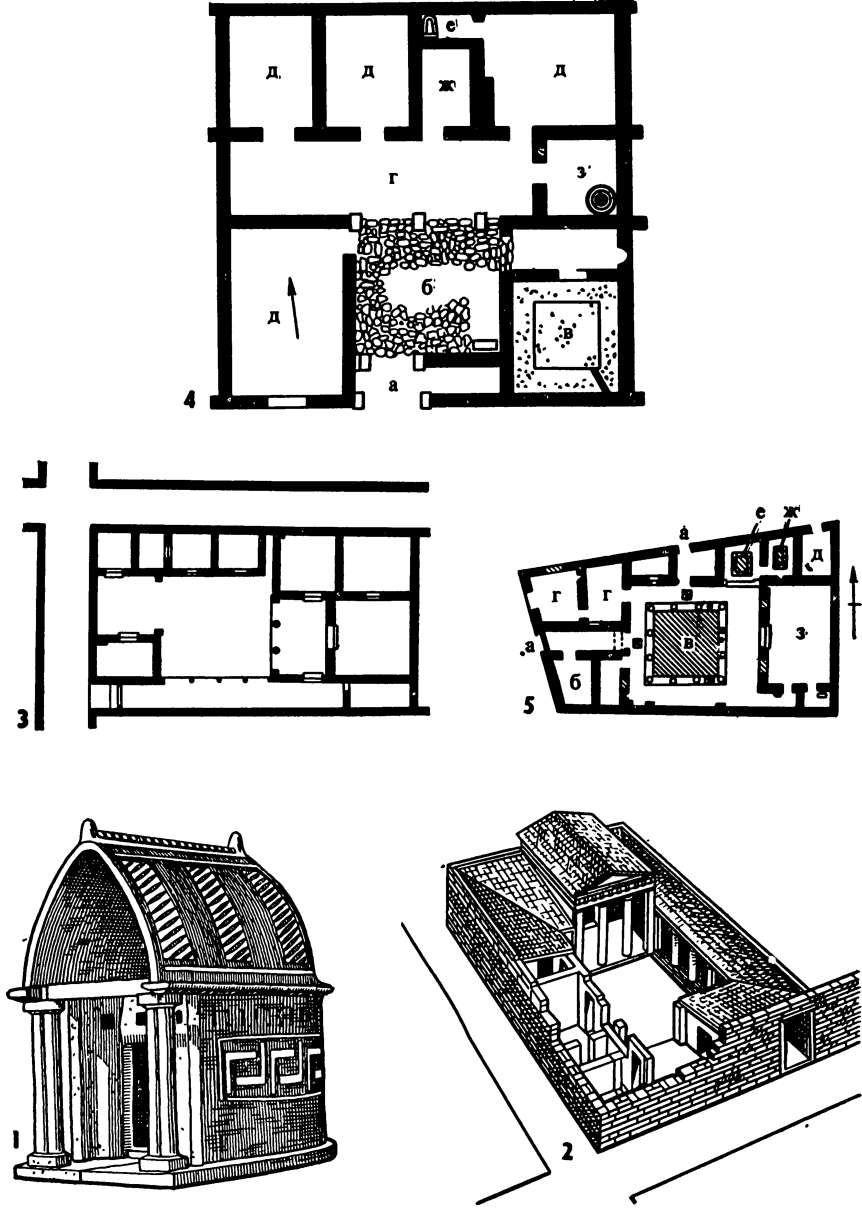 Жилой интерьер Древней Греции