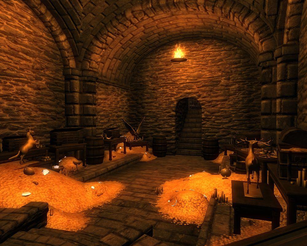 Интерьер феодального замка