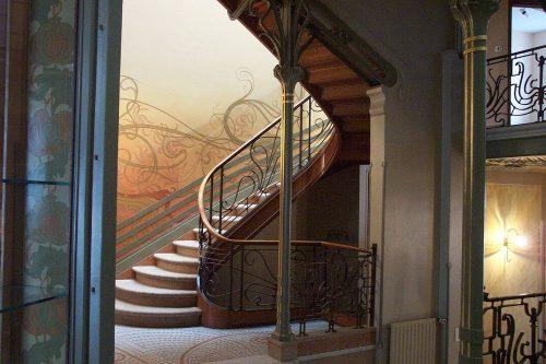 интерьеры особняка Сольве в Брюсселе