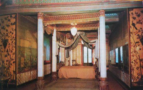 спальне короля в Китайском домике в Палермо