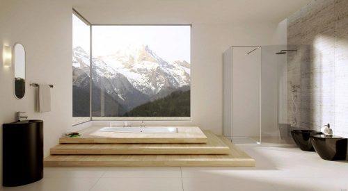 ванная в полу