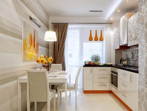 Дизайн кухни 6 кв. м