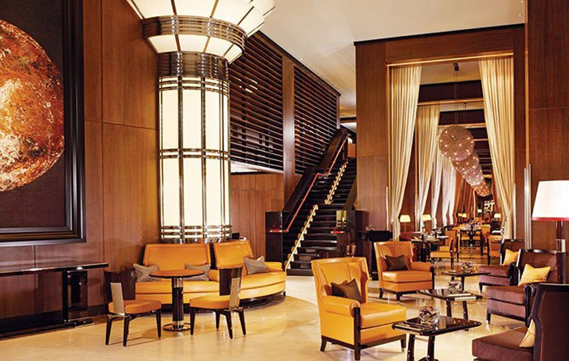 интерьеры отелей ар-деко