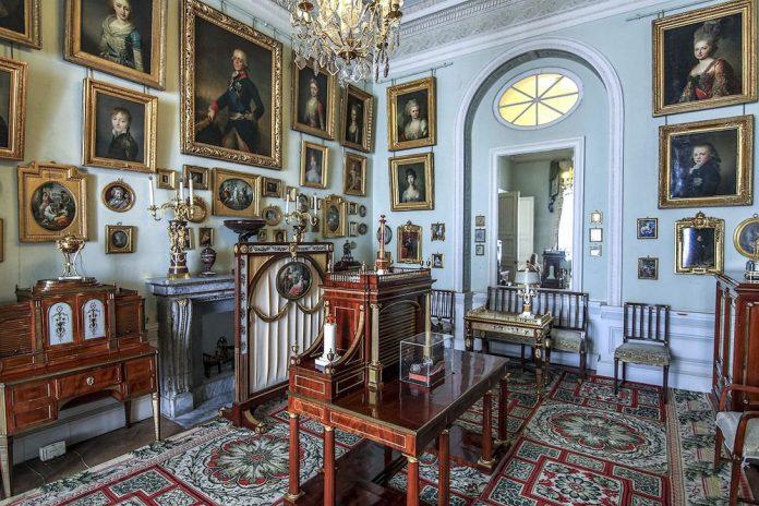 Покои Марии Фёдоровны в Павловском дворце
