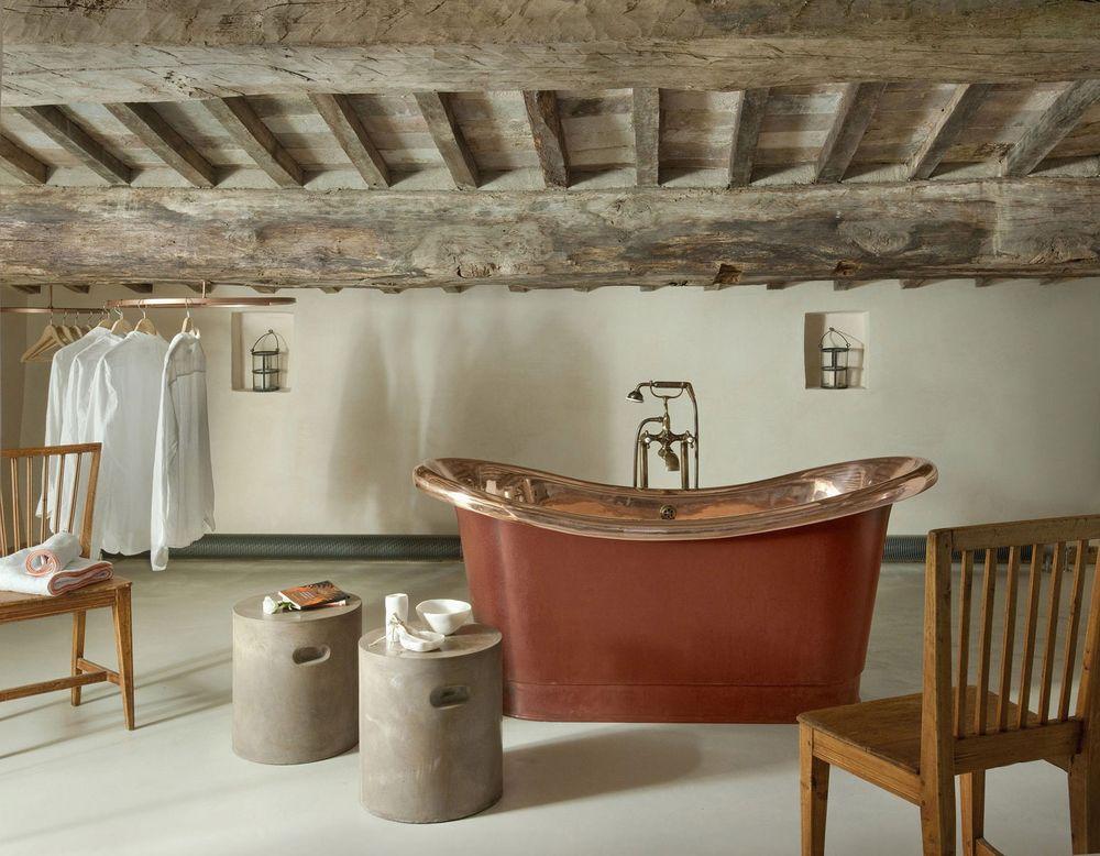 Лофт в интерьере. Интерьер ванной комнаты в стиле лофт